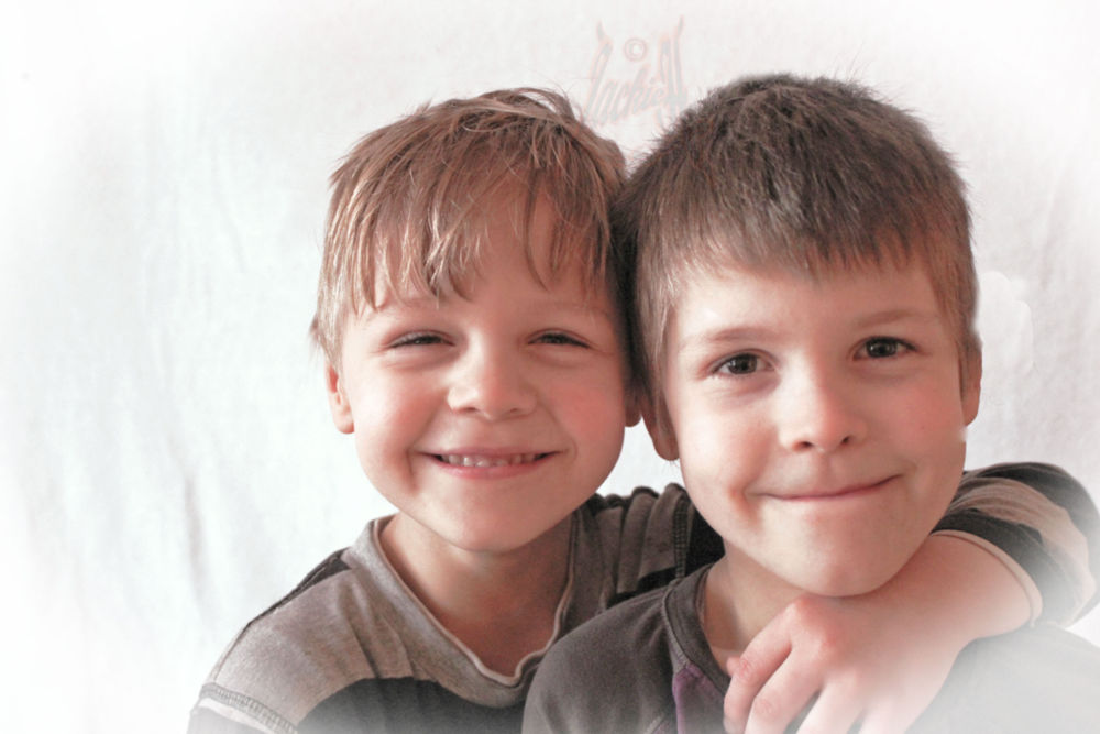 My sons: Felix Poul & Aaron Leif ♥♥ by Jackie H