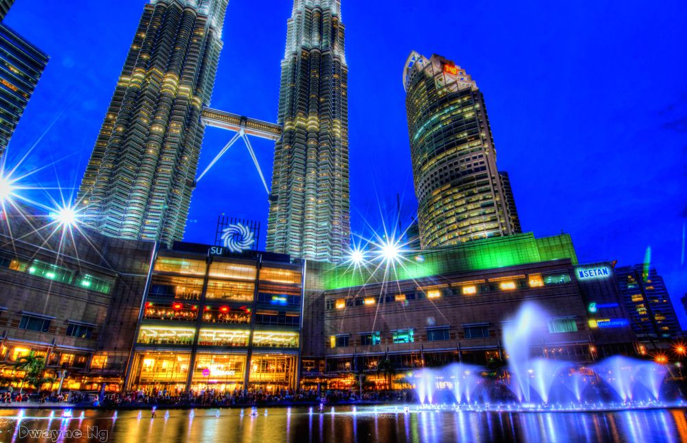 Photo in Cityscape #malaysia #klcc #twin tower