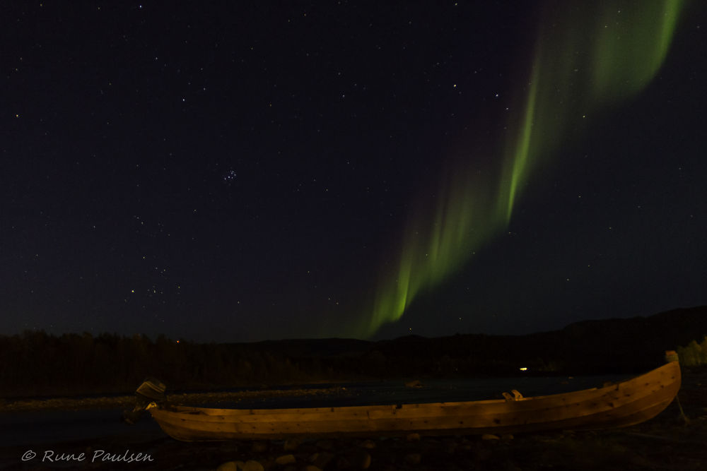 Photo in Random #altariver #northernlights #alta #north #finnmark #norway #aurora #magic #riverboat #river #water #stars