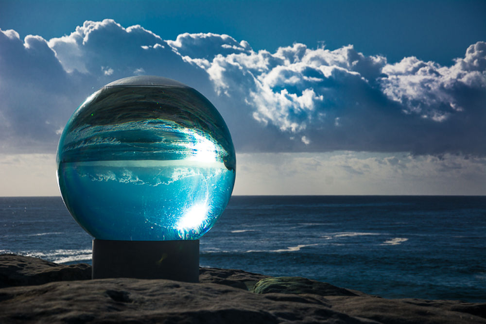 Photo in Random #bondi #australia #sydney #art #sculpture #ocean #sea #sky