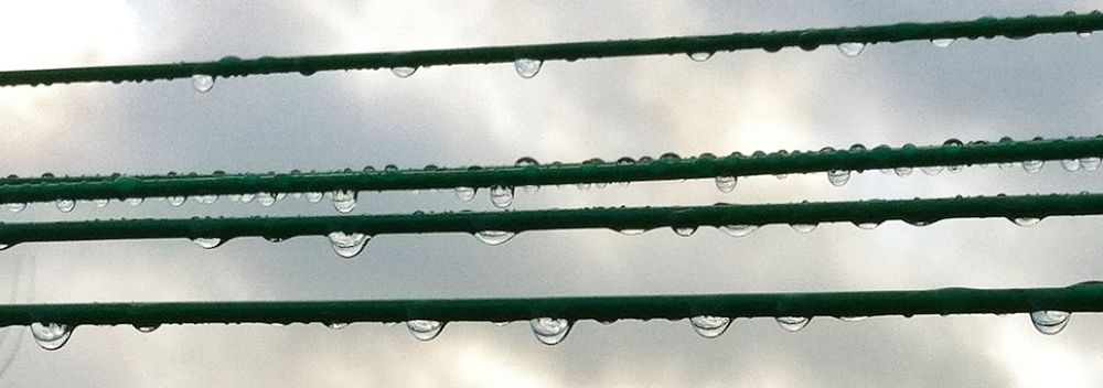 Photo in Abstract #rain #raindrops #water #washing #clouds #drips