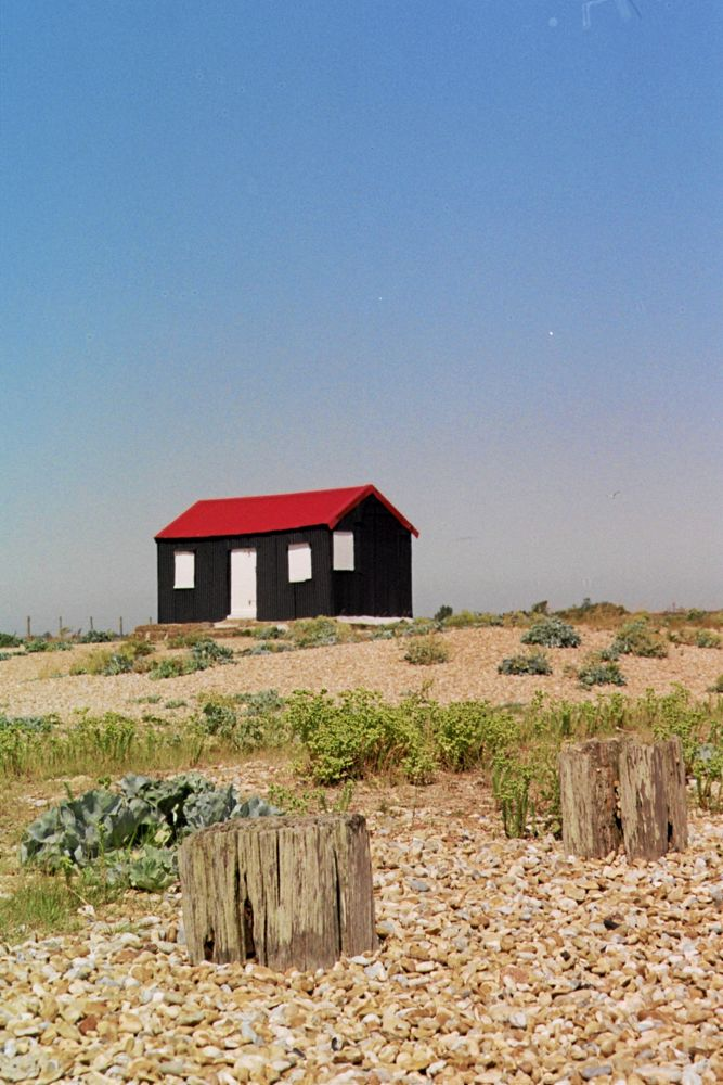 Photo in Random #beach #shingle #hut #rye #ypa2013