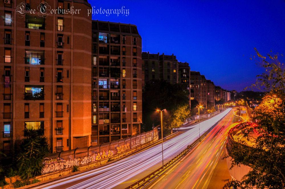 rush hour nomentana105 by Christian Lee Esguerra