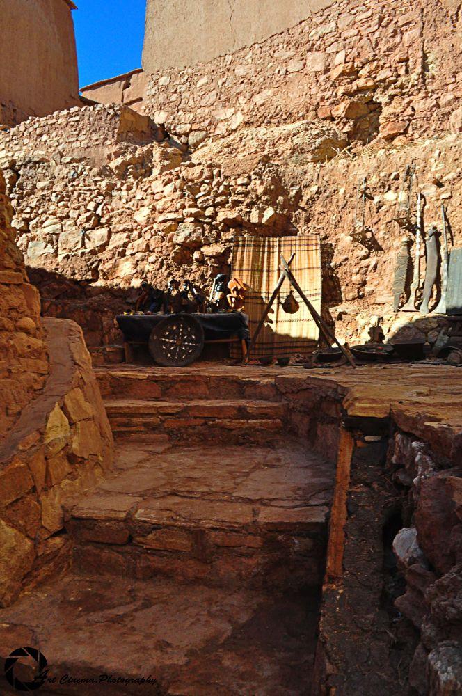 Old Street Ouarzazate ( where was Gladiator movie made ) by Najib Khayati