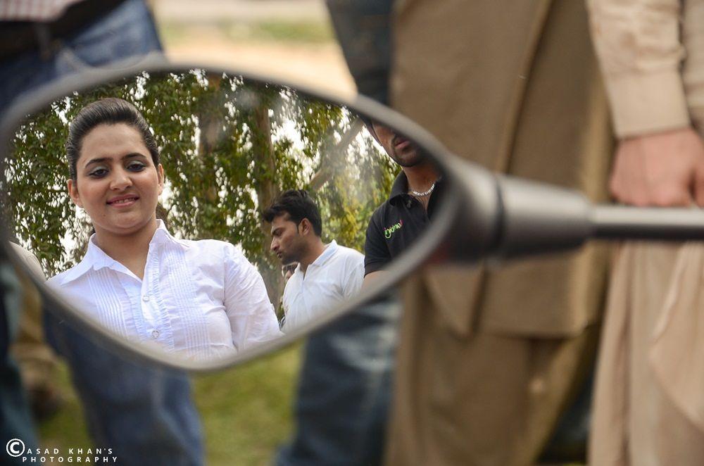 Mirror Reflection by Muhammad Asad Khan