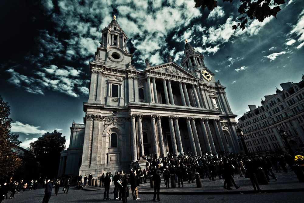 Darkness over St Paul's by Alfie Shillingford