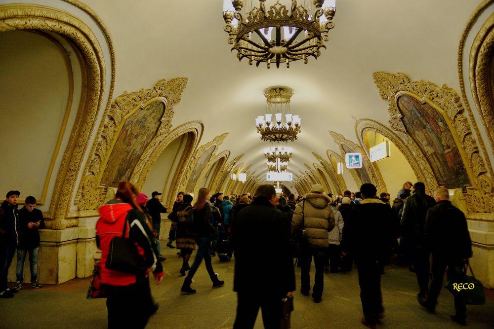 Moscow railway station by Recai Özatay