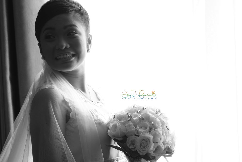 shine's wedding portrait by Michael Jason Fontanilla