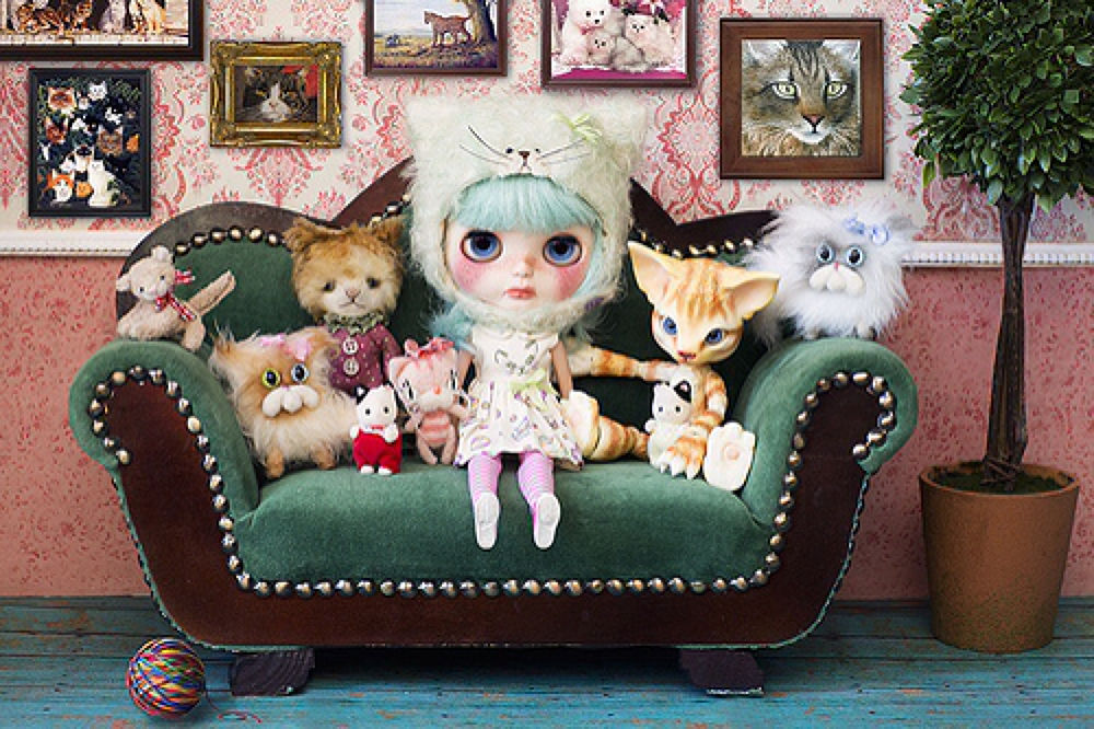 The Cat Lady by jodie.c.mcguire