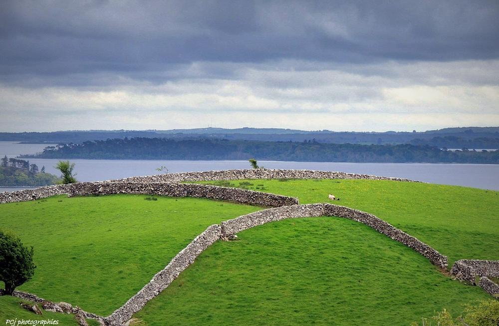 Green Ireland by Pascale Jaouen Art PCj