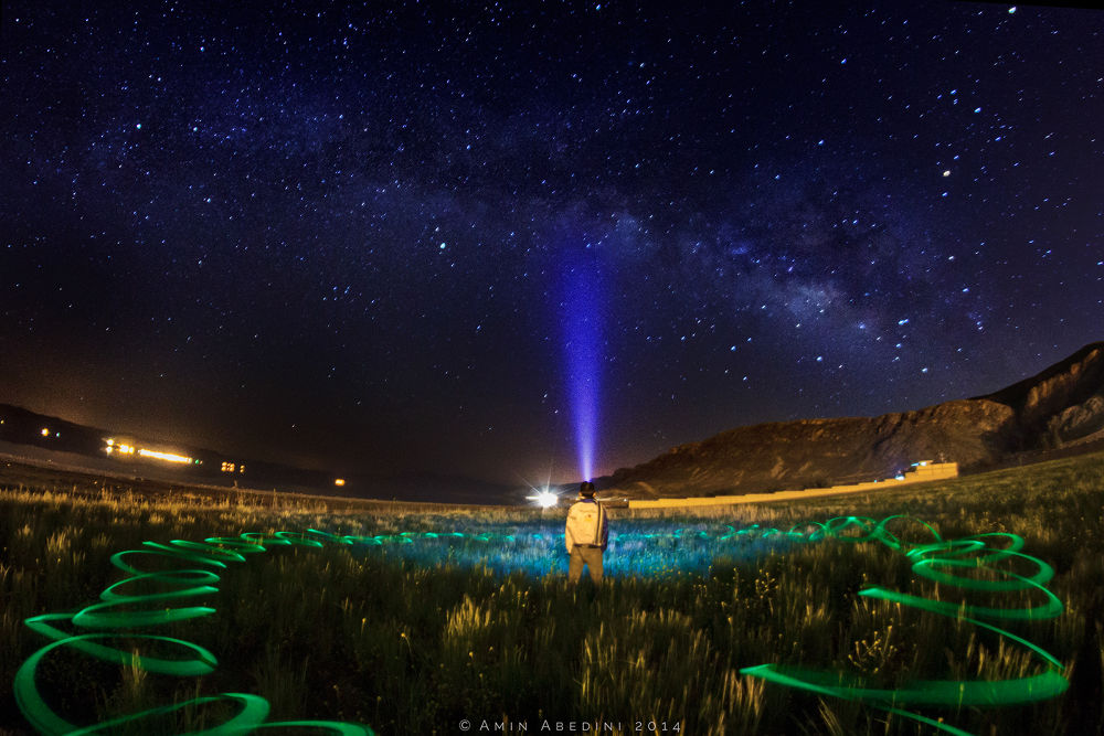 Counting The Stars by Mohammad Amin Abedini