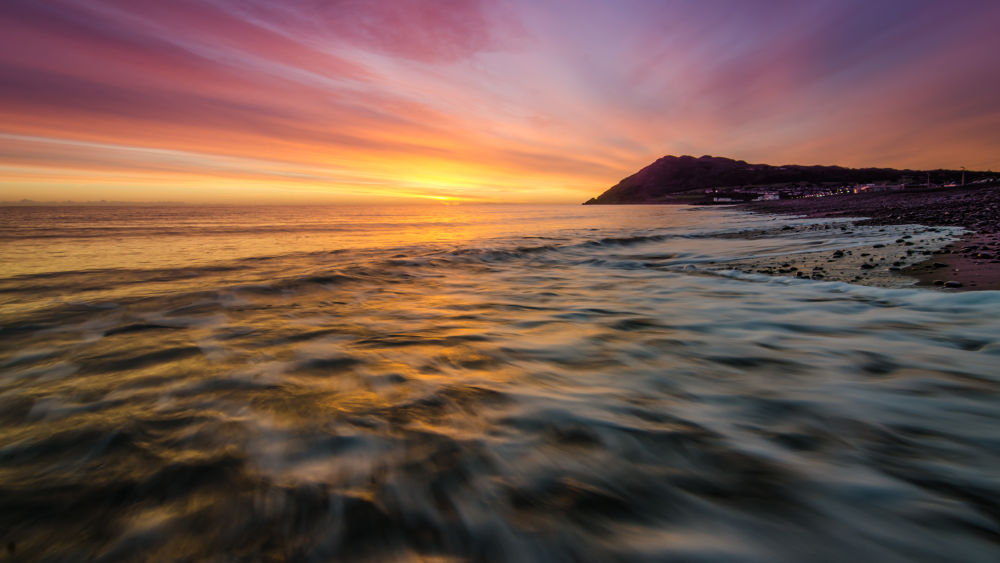 seaside sunrise by Greg Sinclair