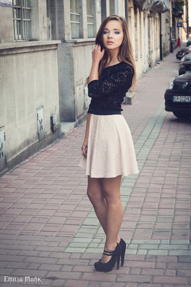 Photo in Fashion #girl #outdoor #street #fashion #krakow #skirt