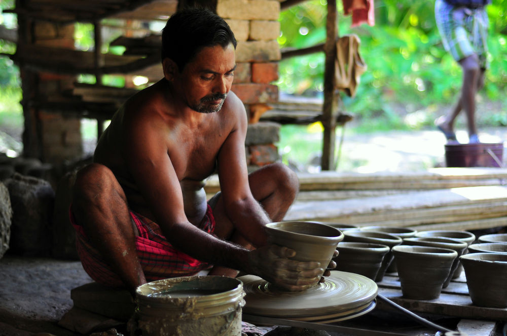 Photo in People #clay potter #bengal