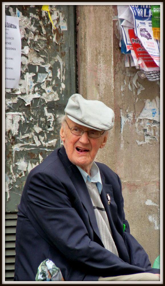 Old man by Oli
