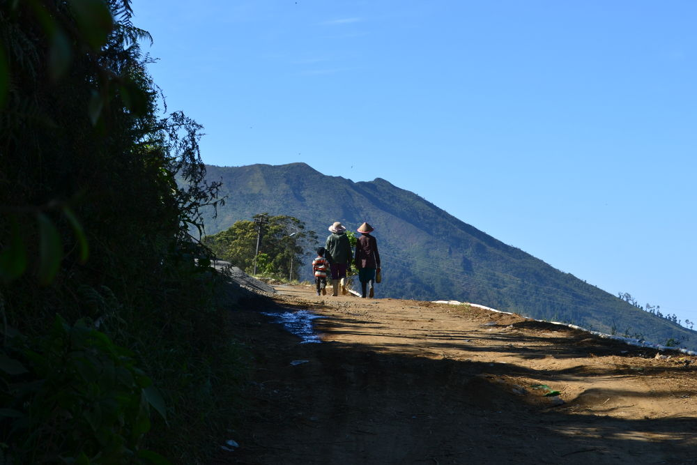 DSC_0007# Keluarga Kecil Petani Gunung # by Dewa Kelana VR