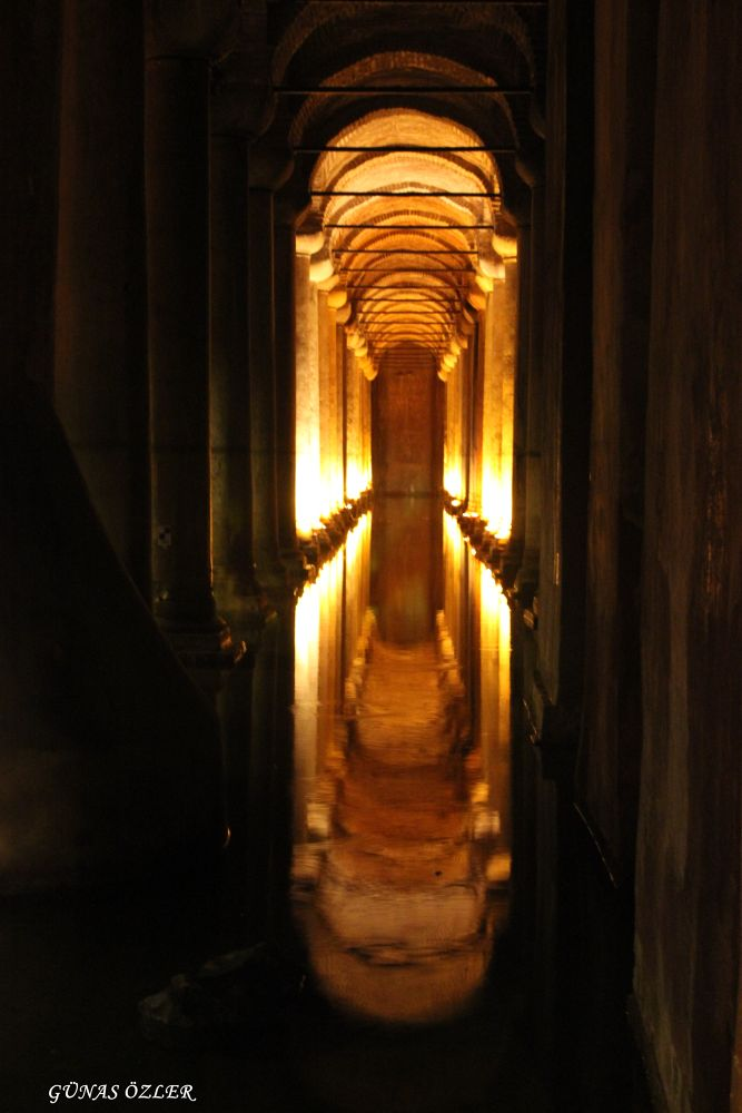 Basilica Cistern by Günas Özler