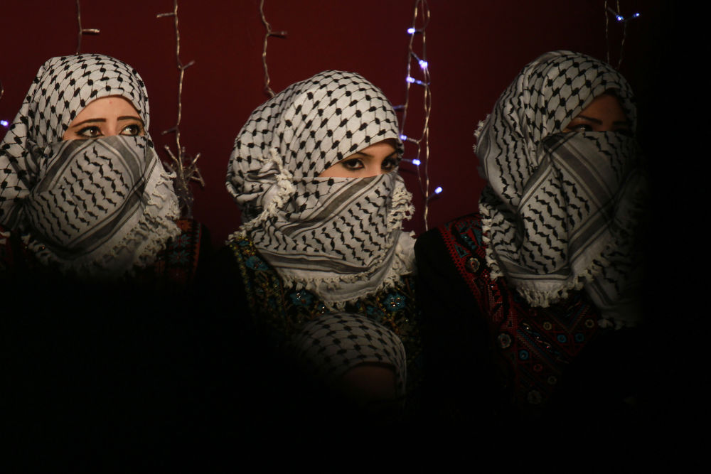 Palestinian girls  by Omar El Qattaa