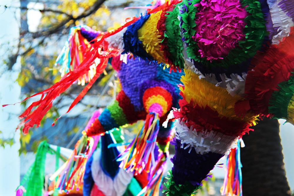 Mexican piñatas by Patricia de la Lama
