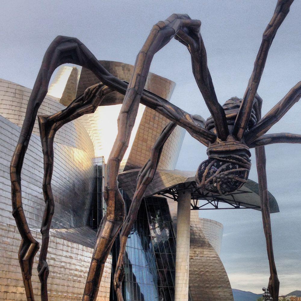 Museo Guggenheim Bilbao by Patricia de la Lama