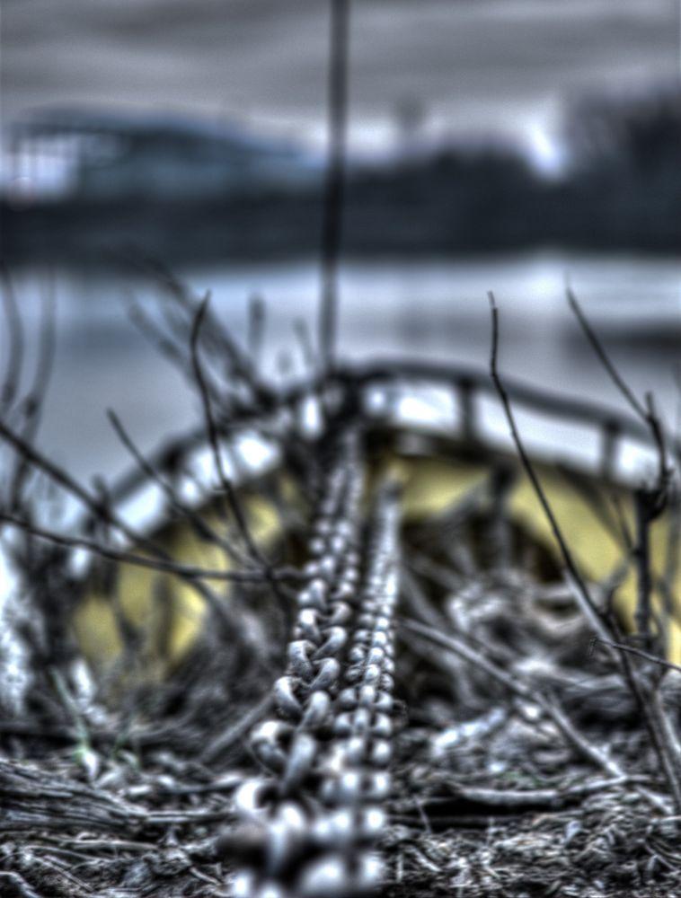 Photo in Random #chain #boat #hdr