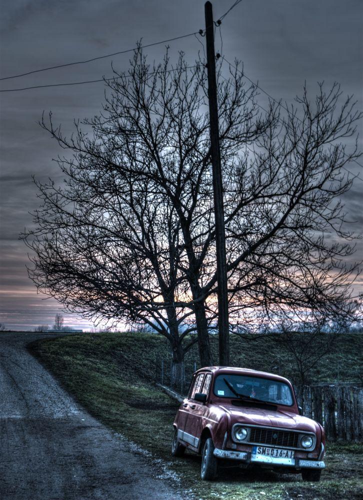Photo in HDRI #old car #hdr