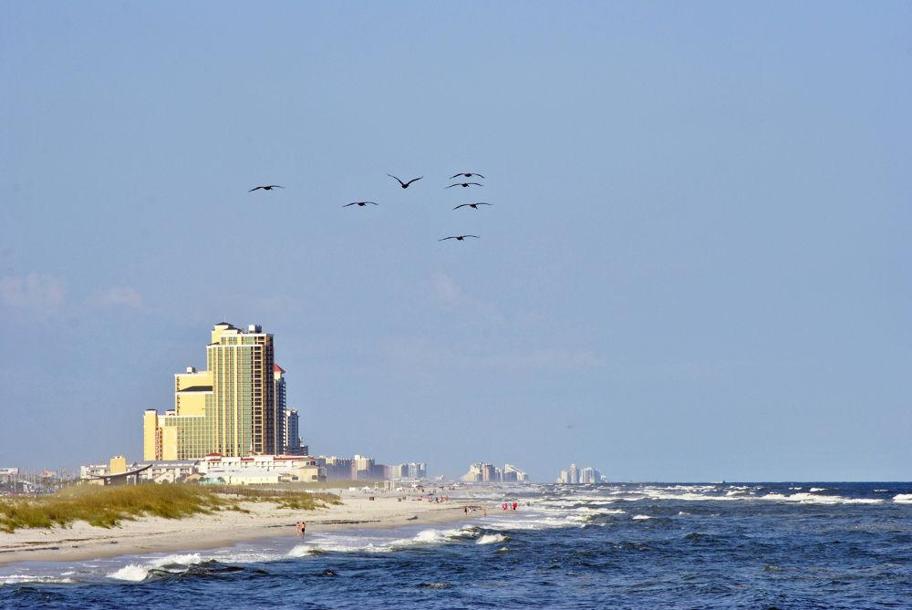 06-20-2012 -  Gulf State Park Beach By Gulf State Park Pier- Gulf Shores, AL #8876 by rnspicer