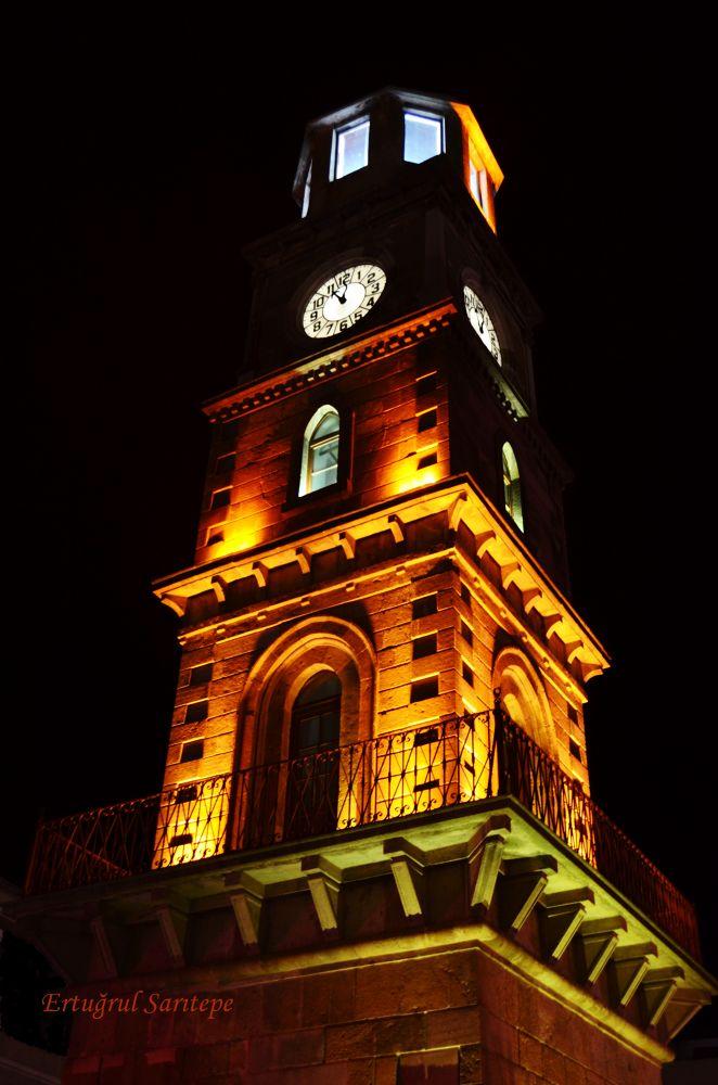 Clock Tower by Ertuğrul Sarıtepe