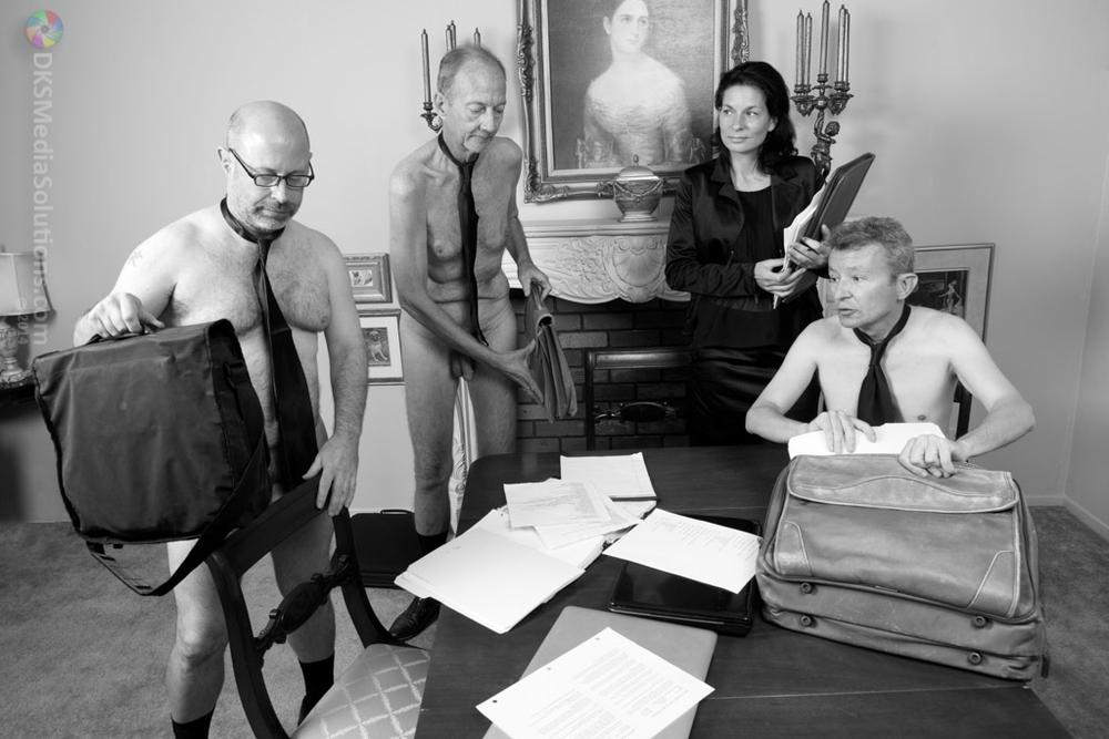 Offices of Life, Blues & Chaplin (#15) by dksmedia