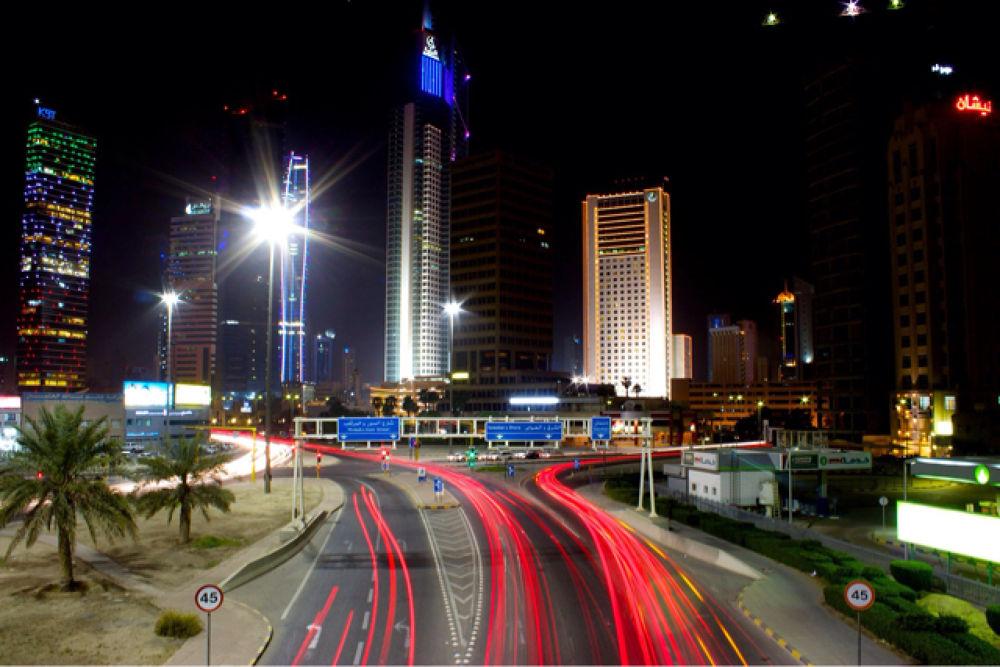 speeding lights by Marsh Reginald Sardea