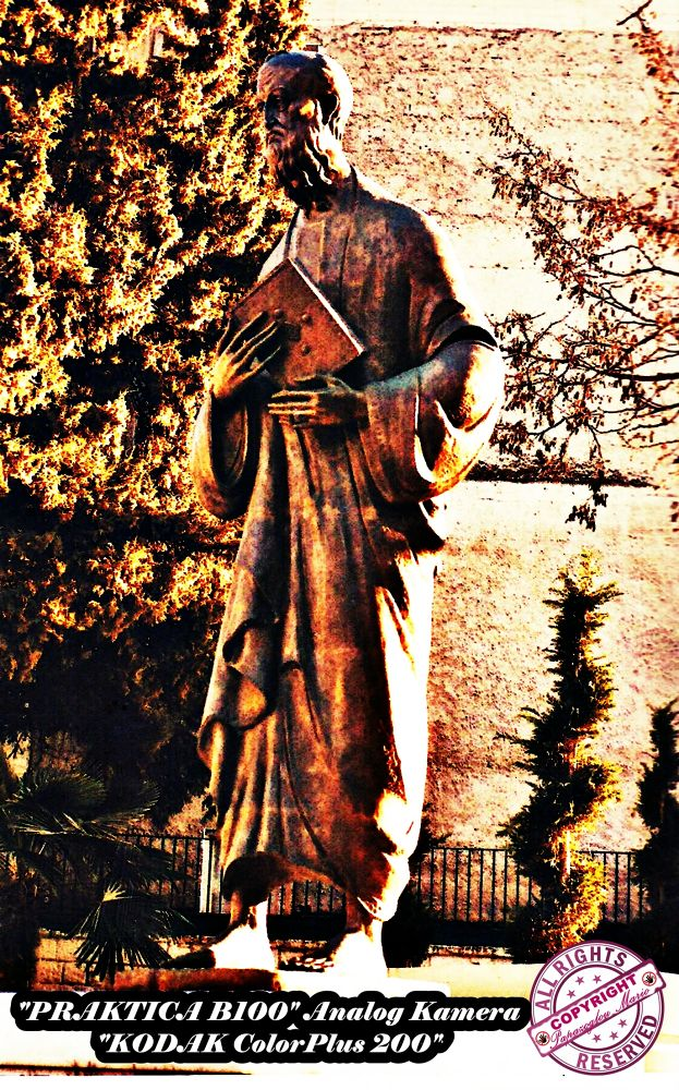 """Apostole Paul"" statue in Veria (Greece) by citbx1989"