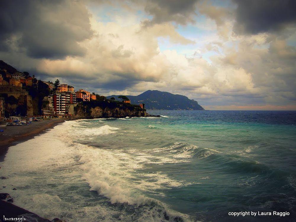 Photo in Landscape #mare  costa  ligure