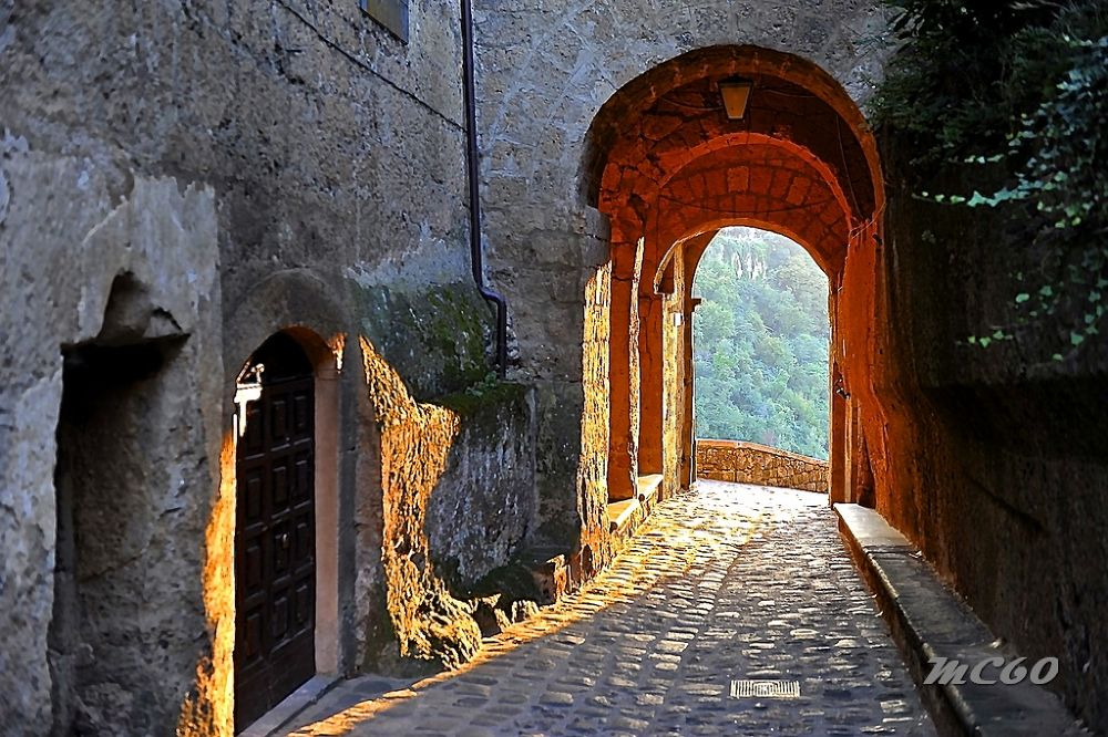 Civit di Bagnoregio by Mauro Corbucci