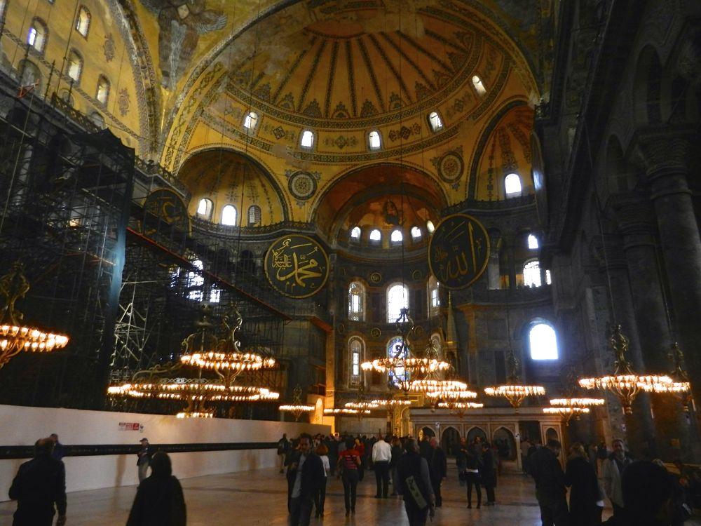 Istanbul Santa Sophia by Mauro Corbucci