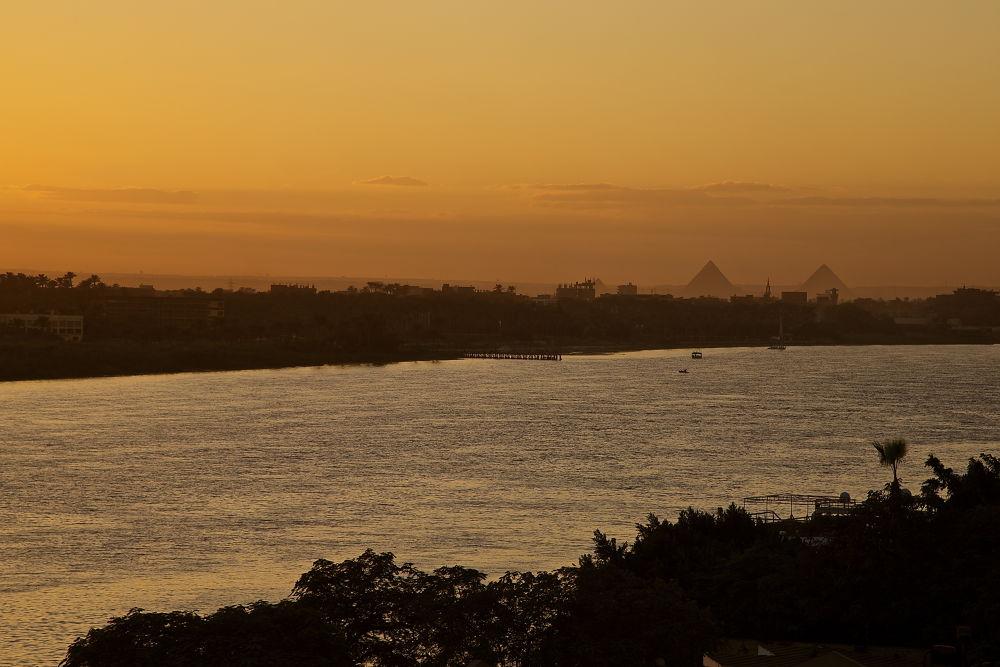 Photo in Landscape #pyramids #nile river