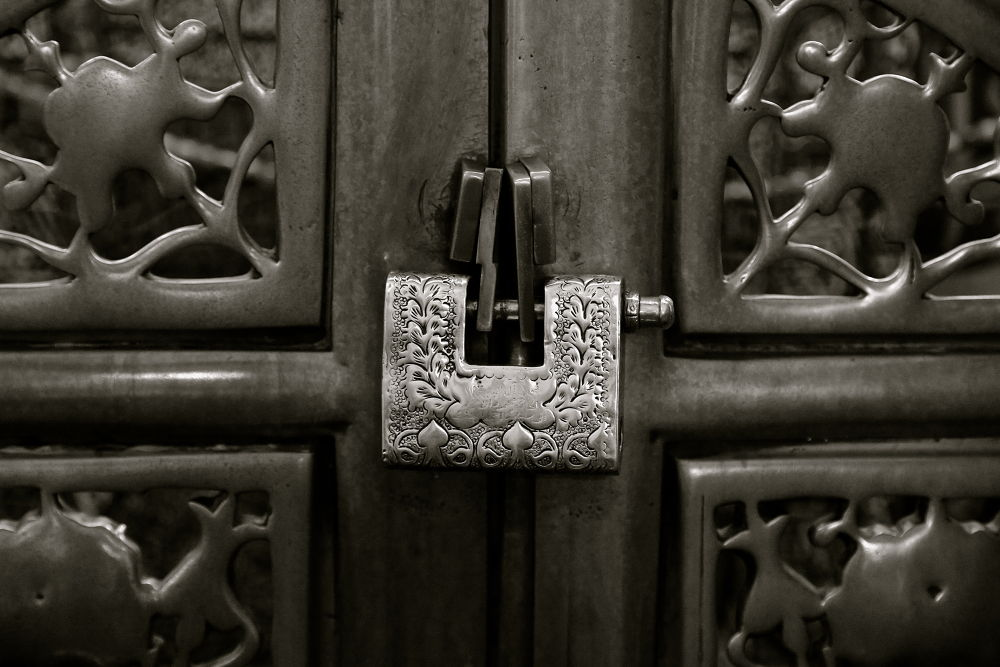 Photo in Black and White #lock