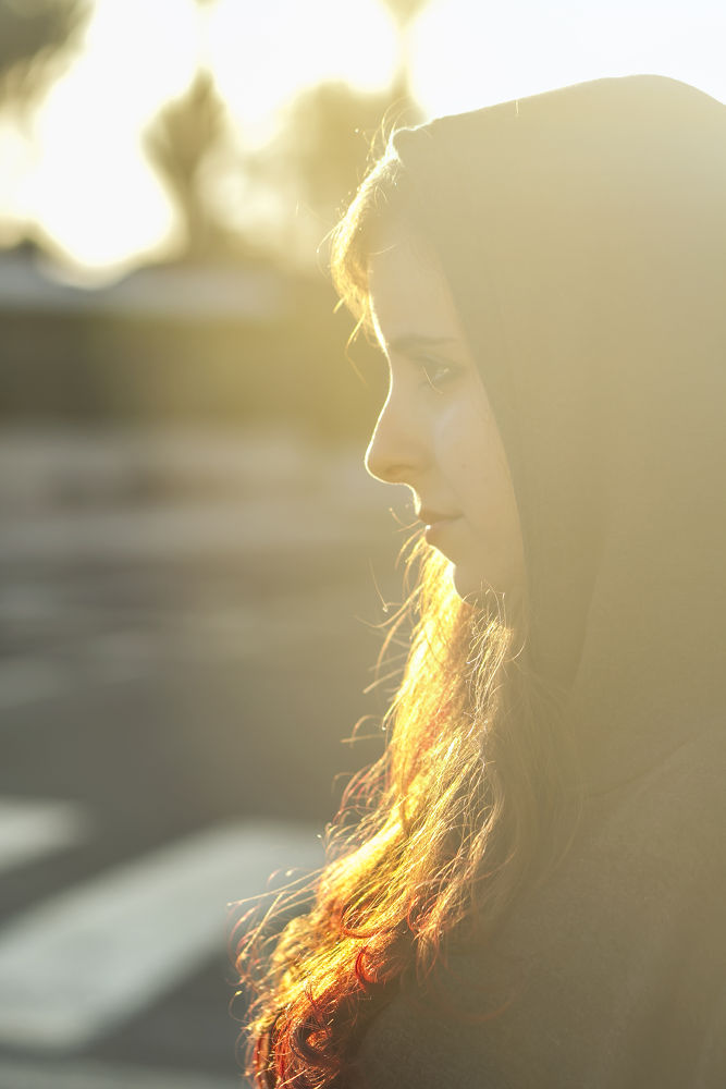 Photo in Portrait #light #backlighting