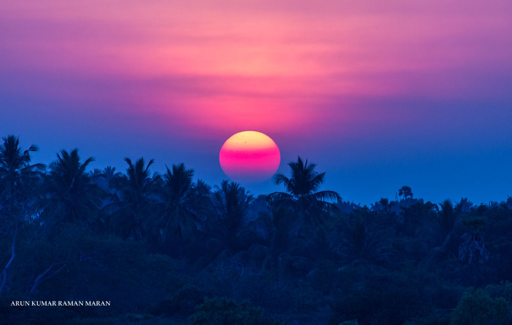 Sunset by Arun Kumar R M