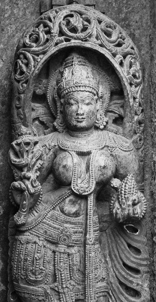 Sculpture - Indian Architecture @ a Temple in Karnataka by Arun Kumar R M