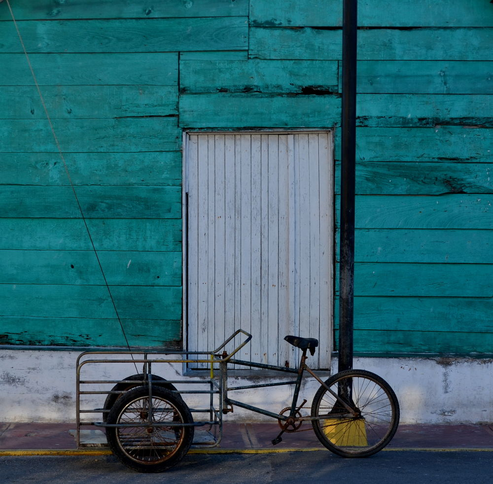 Photo in Travel #bike #mexico #travel #town #yucatan