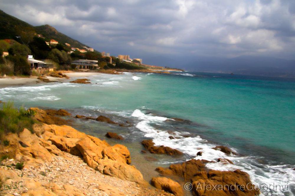 Photo in Nature #ajaccio #france #beach #corsica