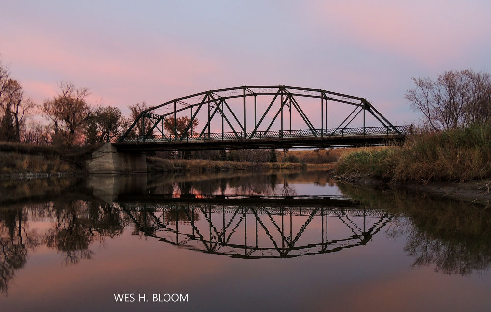 BRIDGE OVER WAKAMOW by Wes Bloom