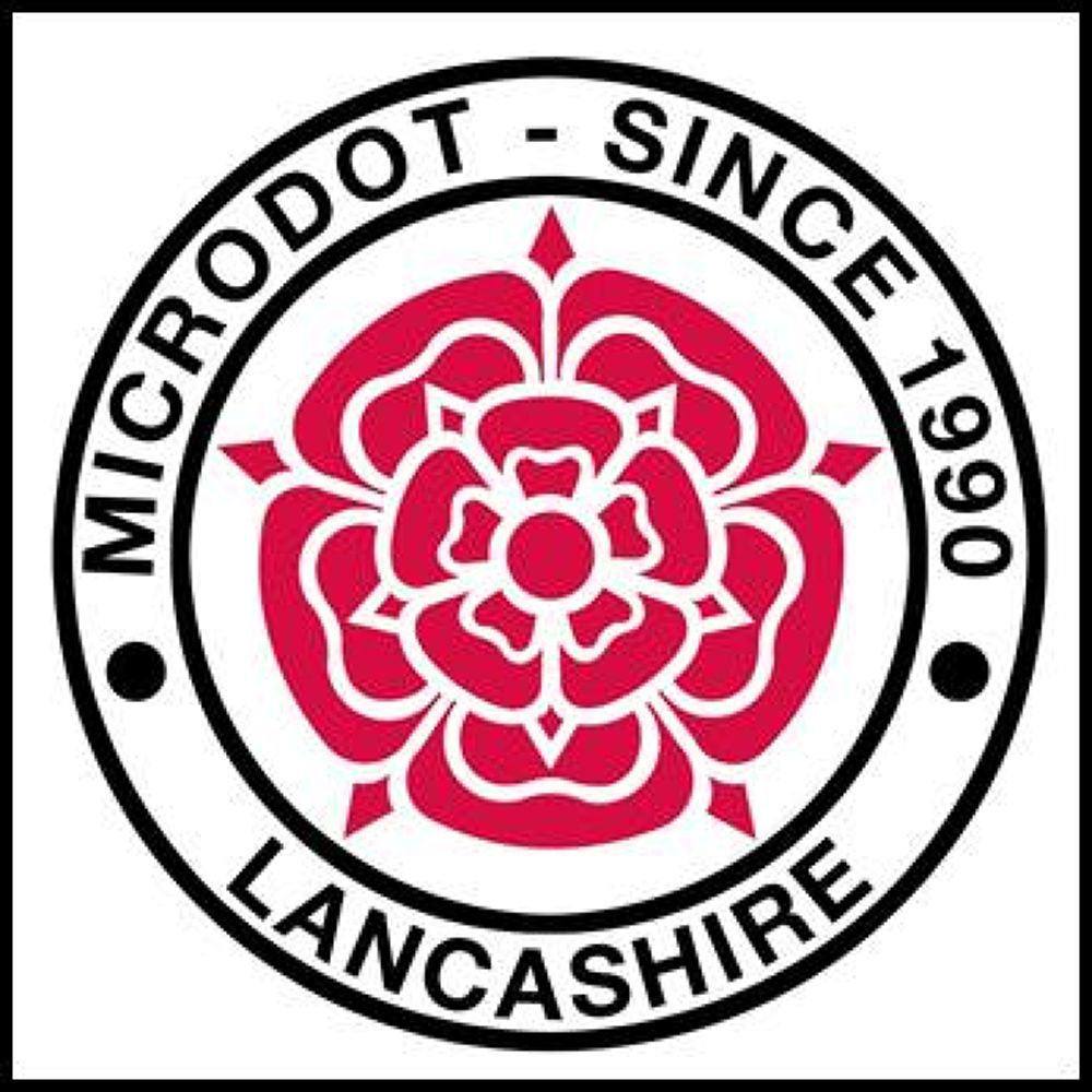 Microdot, since 1990 - Lancashire, England. by Brian Cannon