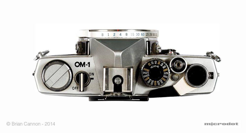Olympus OM1. 2014. by Brian Cannon