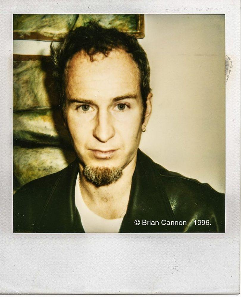 John McEnroe Polaroid, New York City, 1996. by Brian Cannon