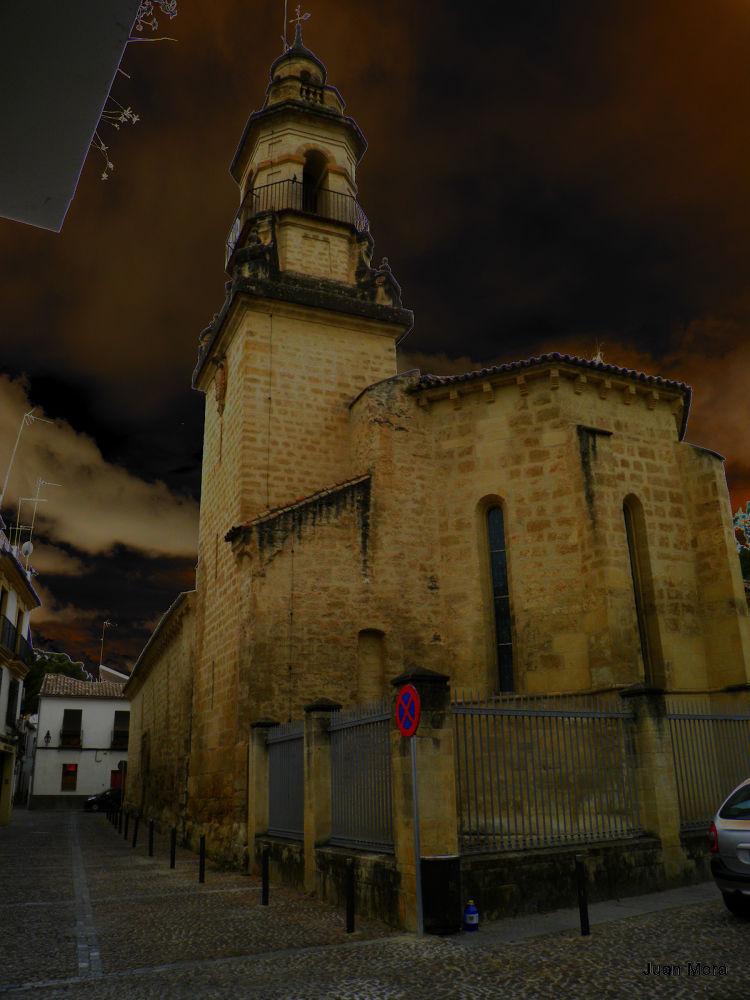 P6170125 Iglesia de la Magdalena. by Juan Mora Gutierrez