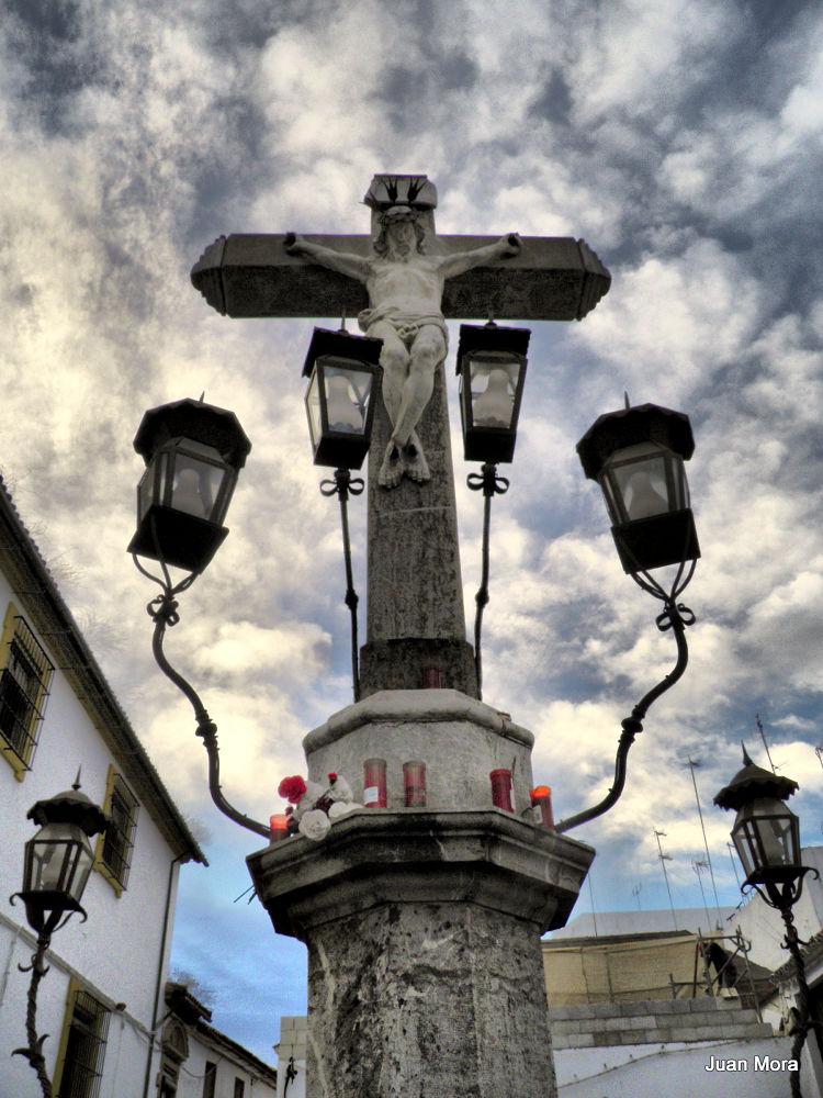 PB150126-001 Cristo de los Faroles,Cordoba. by Juan Mora Gutierrez