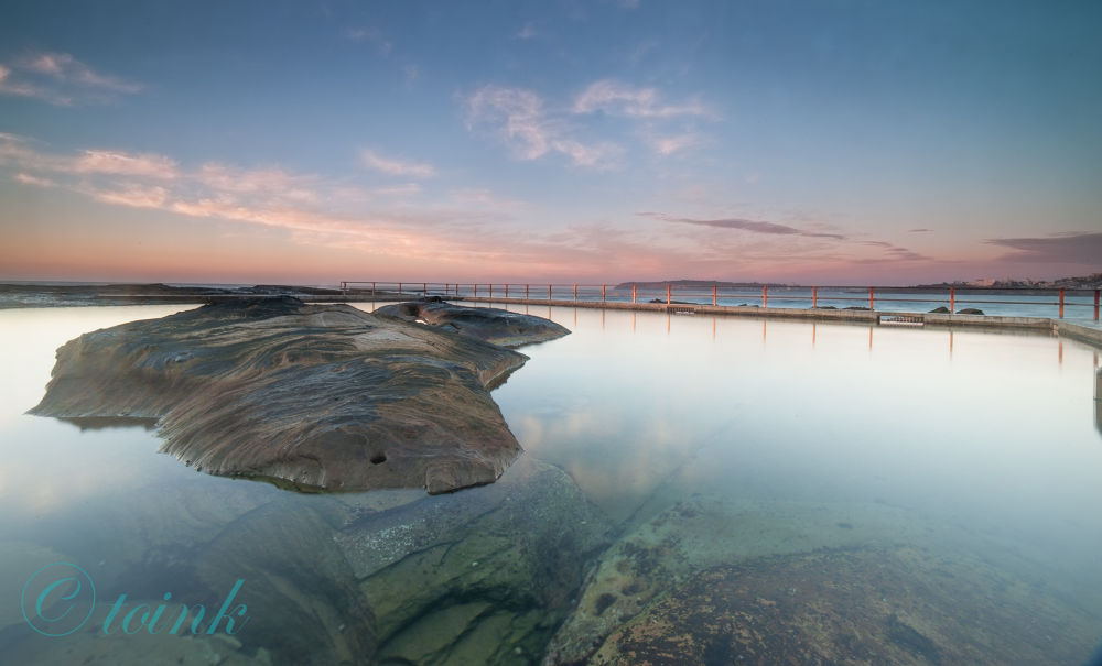 North Curl Curl Rock pools by Garrie Plata