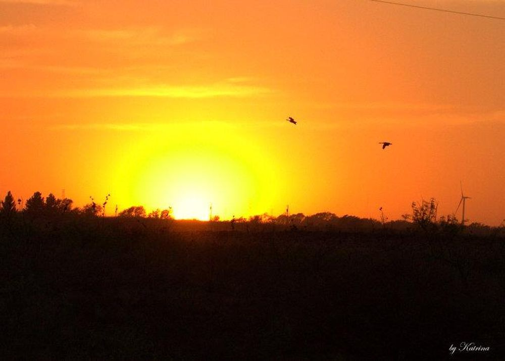 Sunset over Ransom Canyon Tx by klove