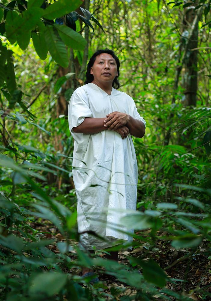 Habitant of Jungle , Chiapas.  by Fredy Peñaloza